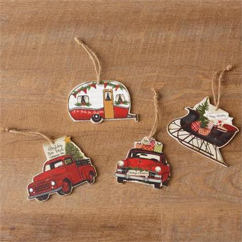 Ornaments- Christmas Tree Farm