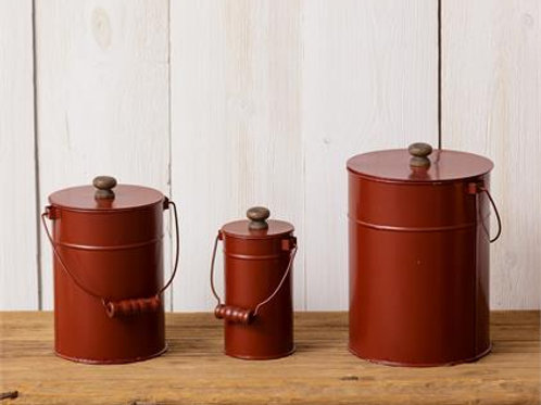 Canisters - Red  Item
