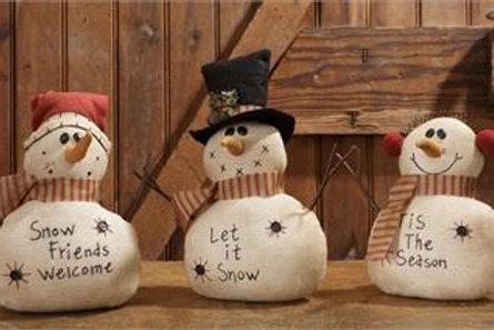 Let It Snow, Snow Friends, Tis The Season