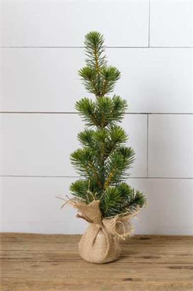 Pine Tree in Burlap Sack, Large