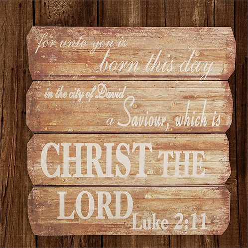 Boards Luke 2:11 - Sign