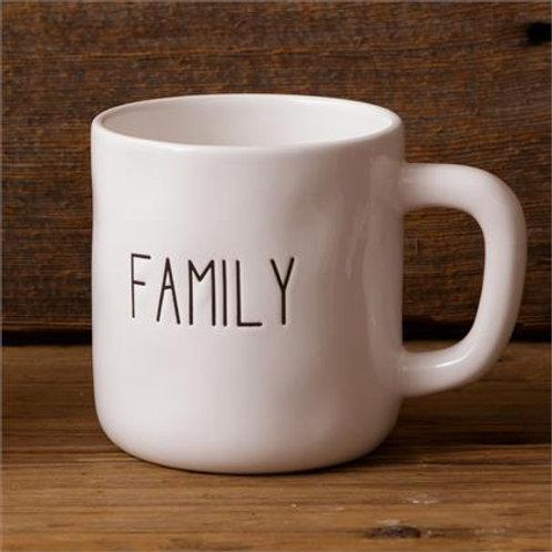 Ceramic Mug (2Pk) Family