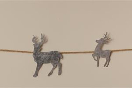 Garland - Metal Deer