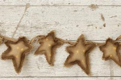 Garland - Stars w/ 30 Leds