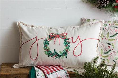 Christmas Joy - Long Pillow