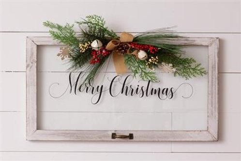 Window - Merry Christmas