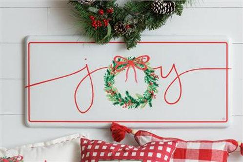 Christmas Joy - Metal Sign