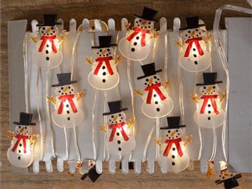 Led Lights - Snowmen