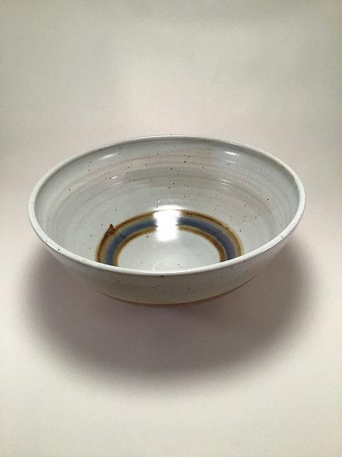 Large White Bowl