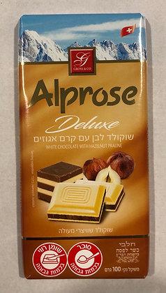 Tablette chocolat au lait noisettes / casher le pessah
