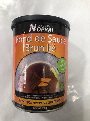 Fond de sauce brun