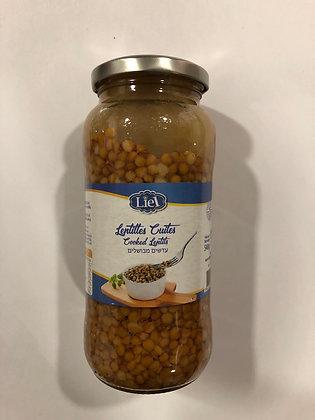 Lentilles cuites bocal 540g