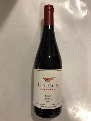 Carton de hermon rouge - 6 bouteilles