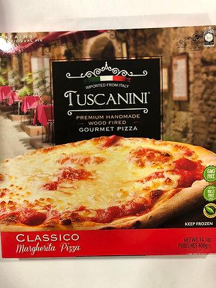 Pizza margherita tuscanini