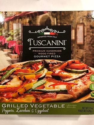 Pizza légumes grillés tuscanini