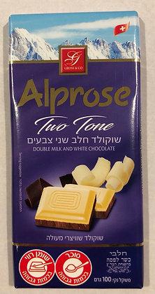 Tablette double chocolat / casher le pessah