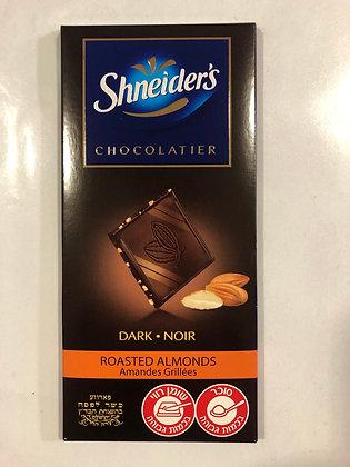 Tablette chocolat 100g / amandes