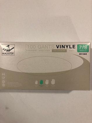 Gants vinyle