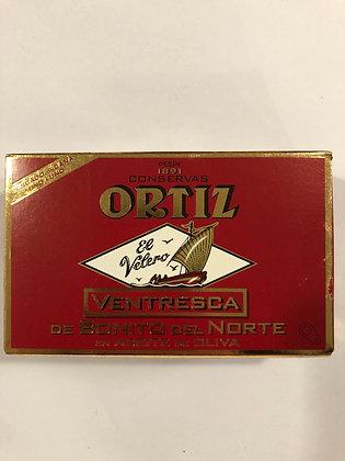 Ventreche de thon ortiz - 110g edition rouge