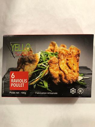 Raviolis au poulet