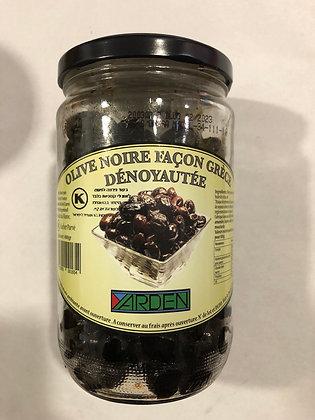 Olive noire dénoyautées pessah