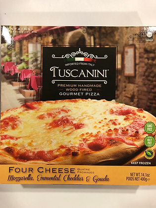 Pizza 4 fromages tuscanini