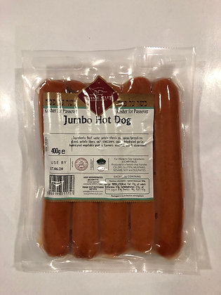 Jumbo hot dog / boeuf