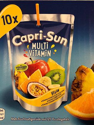 Pack 10 capri sun multi vitamin