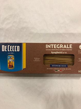 Spaghetti complete de cecco kosher