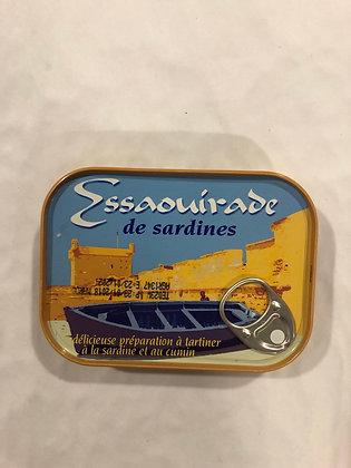 Sardines au cumin