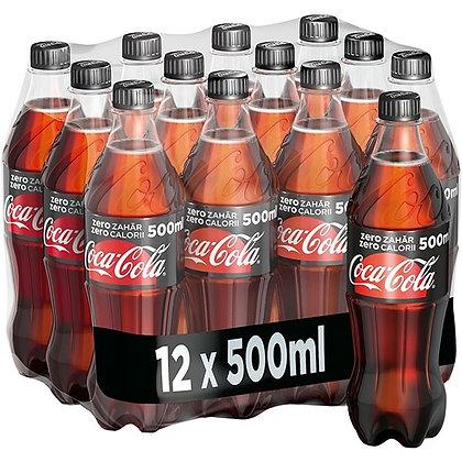 Coca Cola zéro - 12 * 0.5 L
