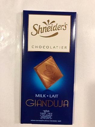 Tablette 100g chocolat au lait