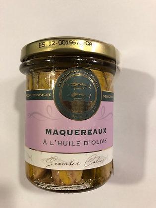 Maquereaux a l huile d olive