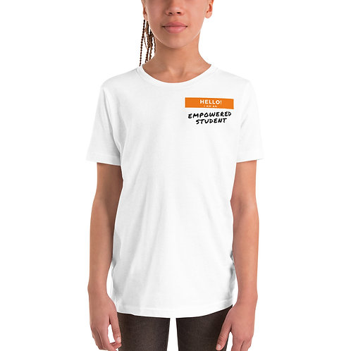 Empowered Student Youth Short Sleeve T-Shirt