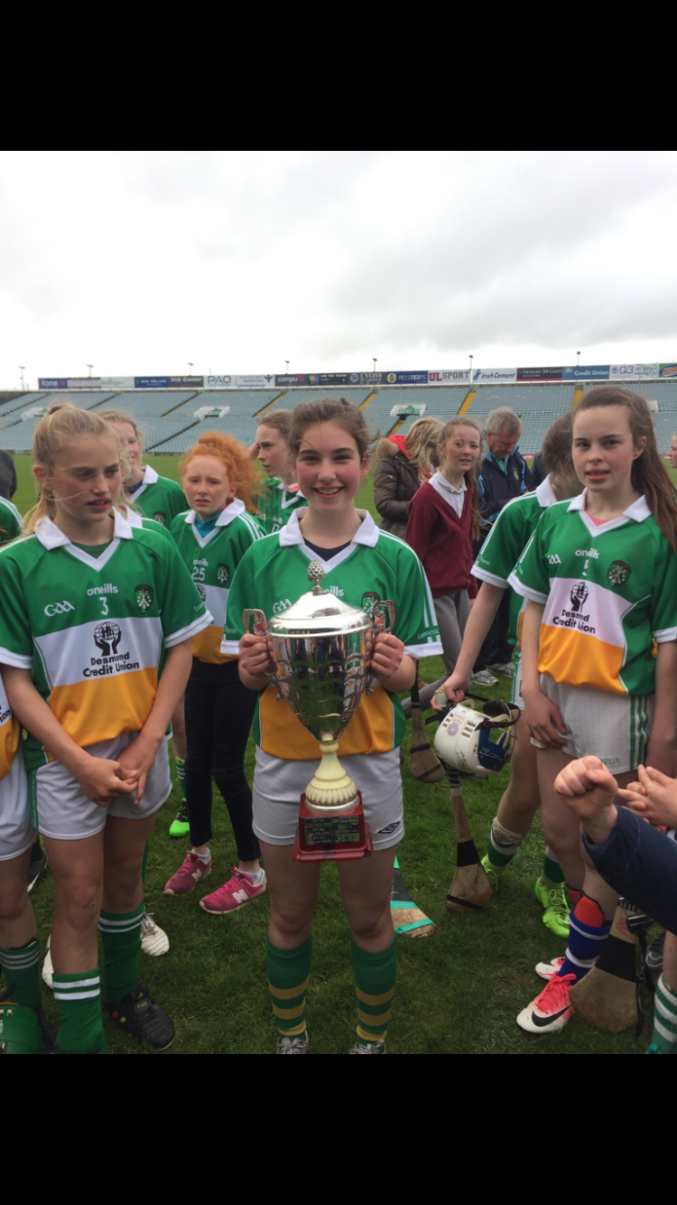 Antonia with the Eithne Neville Cup.