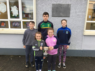 Victorious St.Kieran's U21 & Minor teams school visit