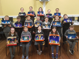 3rd and 4th Class Christmas Dioaramas