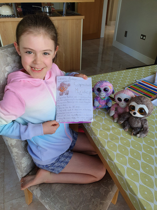 Lia and her teddies