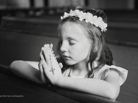 First Communion Portraits { Doylestown, Pa}