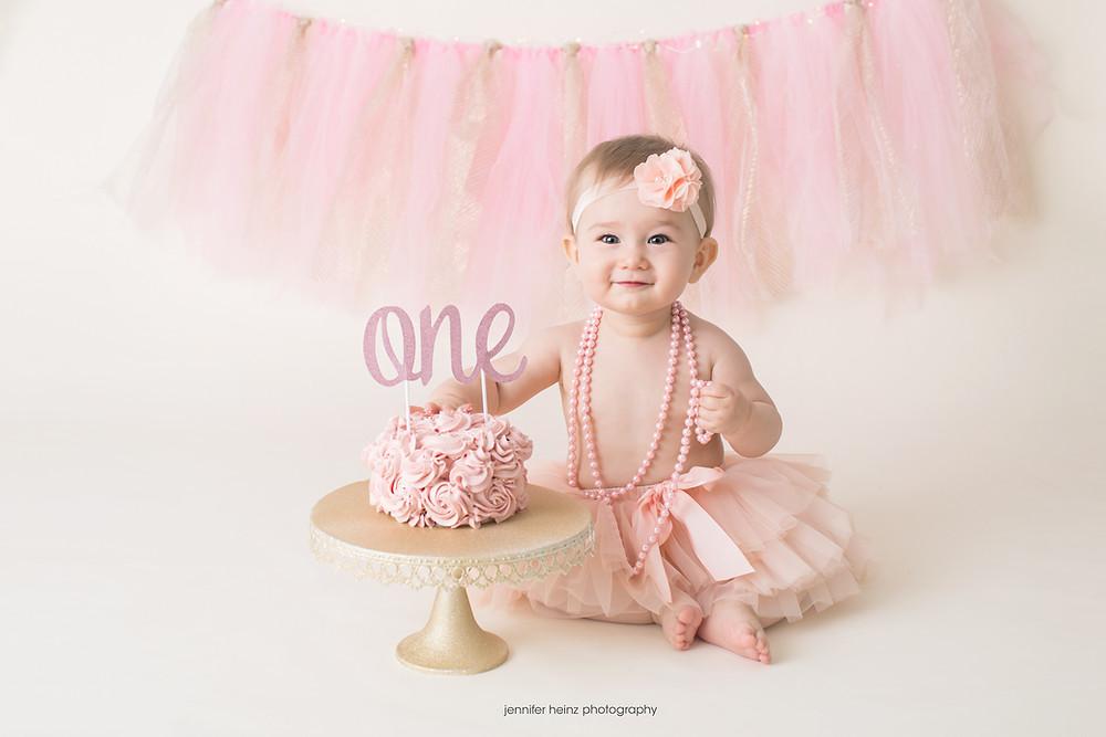 first birthday girl