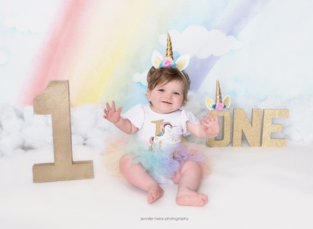 Unicorn First Birthday {Yardley, Pa}