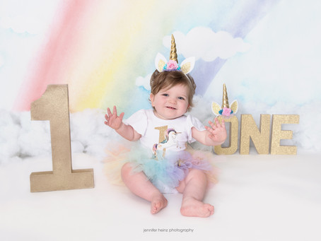 Unicorn First Birthday {Yardley, Pa}