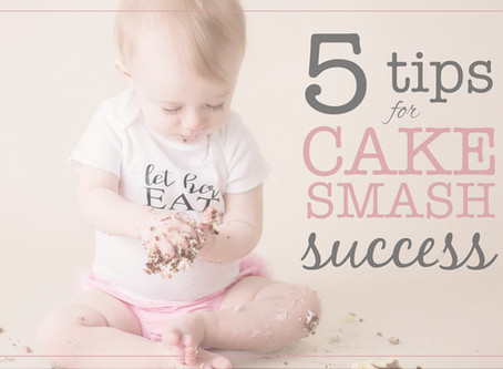 5 Tips for Cake Smash Success!