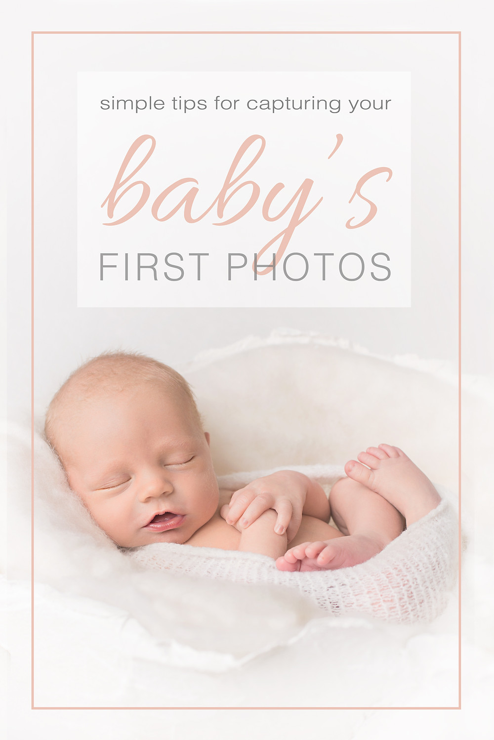 baby's first photos