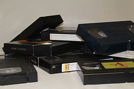 VHS Tapes, Beta Tapes, Video Tapes