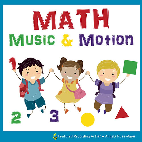 Math Music & Motion - Music CD