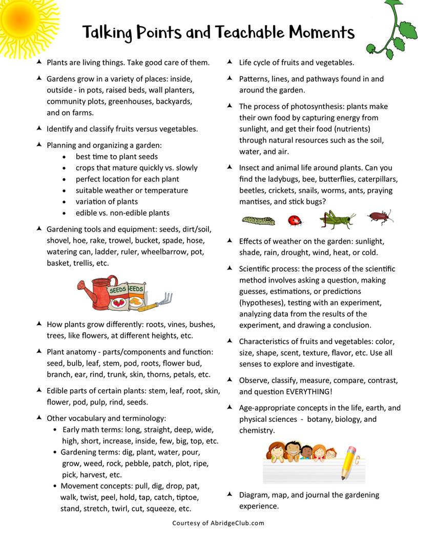 Fruits & Veggies Row By Row (Teachable 8