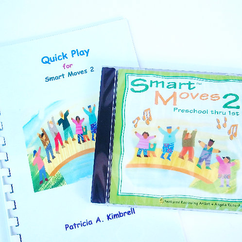 Smart Moves 2 CD and Quick Play Guide Book - COMBO