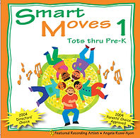 AbridgeClub.com | Smart Moves 1 CD | Music & Movement | Preschool | Early Childhood