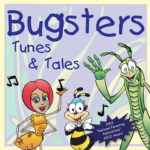 Bugsters Tunes and Tales - Music CD